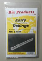 EARLY HIGHWAY OVERPASS RAILINGS KIT HO 1:87 SCALE LAYOUT DIORAMA RIX 104
