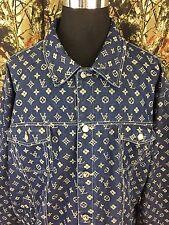 Veezo Jeans Men's 2PC Jacket & Pants Set Carpenter 2XL 38W Blue Denim