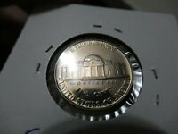 1958 Jefferson Nickel Coin, Proof Brilliant UNC. Full Steps