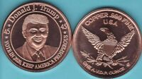 Lot of 20  DONALD J TRUMP  1OZ Ounce Of Copper ROUNDS .999 Pure design #123