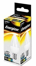 Genuine Energizer Candle LED Bulb 6w SBC B15 Opal 470lm Warm