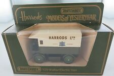 MATCHBOX MODELS OF YESTERYEAR HARRODS Y29 WALKER ELECTRIC VAN