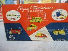 Linemar Toys - Elegant Miniatures, 10 Assorted in Box