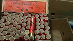 3 scatole Bossoli cartone  GP Sidna  Calibro 16 collezione cartucce caccia