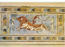Greece Postcard - Heraclion - [Museum] Tauromachy Fresco of The Palace  SM308
