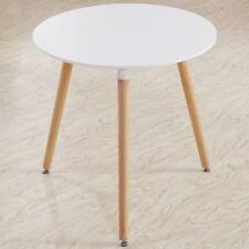 EGGREE Table Ronde Salle Manger Scandinave pour Salle à Manger Diamètre 80cm Bla