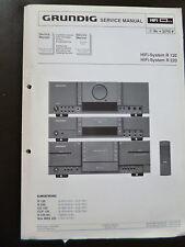 Original Service Manual  Grundig Hifi System R 120 R 220