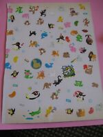 vintage 80's stickers toots sandylion BJ *used* (free ship $20 min)