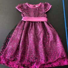 Joe Ella Purple Sequin Party Dress Size 5
