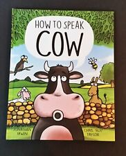 """Jonathan Irwin - How To Speak Cow - ill Chris """"Roy"""" Taylor - hb"""