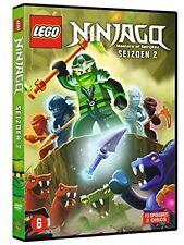 LEGO NINJAGO - COMPLETE SEASON 2 -  DVD - PAL Region 2 - New sealed