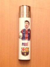 Zigarettenanzünder / Feuerzeug Clipper Fußball Barca Barcelona Gerard Pique