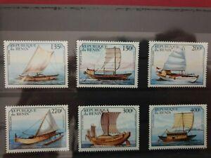 Benin - 1999 - Ships  - 6 stamps  - MNH