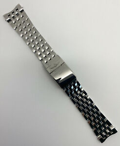 Authentic Breitling Navitimer 24mm x 20mm Stainless Steel Bracelet 453A OEM