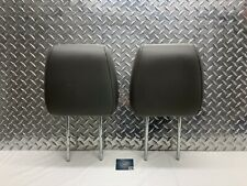 2004-2008 FORD F-150 F150 FRONT SEAT HEADREST SET HEAD RESTS GRAY LEATHER OEM