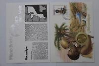 MOZAMBIQUE 1 METICAL 1982 COIN COVER A98 - 76