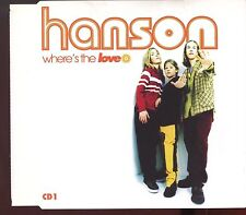 Hanson / Where's The Love - CD1