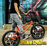 BikeDubz Mayhem 20 Inch Wheel Covers For BMX Bicycle Fits Mutiny Bikes