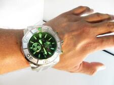 Invicta New Coalition Forces Sonar Radar Effect Stainless Steel Green 58/63mm