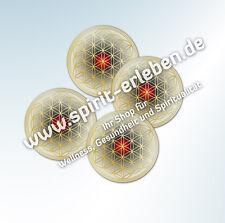 5 Untersetzer Blume des Lebens - Kunststoff-Untersetzer für Gläser