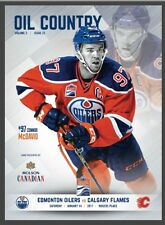 Connor McDavid 2nd Rogers Place (5th Ever) Program Oil Country Jan 14, 2017