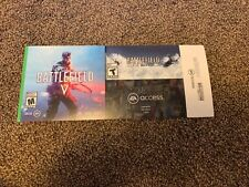 Battlefield V Deluxe Edition (Microsoft Xbox One, 2018) 1943 Included