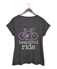Size UK 18 Ladies Womens Short Sleeved Charcoal Grey T-Shirt Top Tee NEW #B-1124