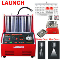 Original LAUNCH Automotive CNC602A Fuel Injectors Intake Ultrasonic Cleaner Test