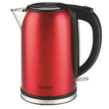 Prestige 1.7 Litre Red Pearlescent Kettle With Illuminated Power Switch