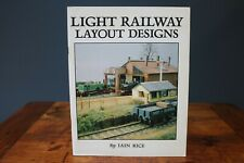 More details for light railway layout designs, iain rice em oo 4mm locomotive model rare book