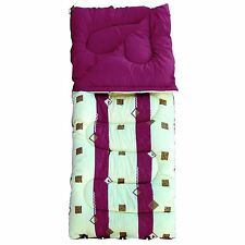 4 Season Sleeping Bag Super King Size Single 60oz Royal Burgandy CAMPING