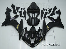 Black Injection New Fairing Fit for YAMAHA 2004-2006 YZF R1 ABS Plastic Kit h21
