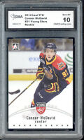 2014 Connor Mcdavid Leaf ITG Young Stars Rookie  Gem Mint 10 #21