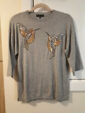Humming bird knitwear top Size 6