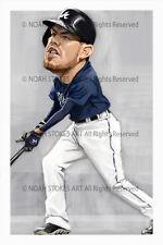 Freddie Freeman Atlanta Braves Sports Art Print by Noah Stokes