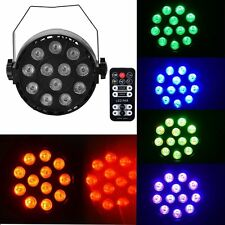 Eyourlife 3 in1 12X3W RGB LED Par Stage Light DMX Remote Control Club lamp CA