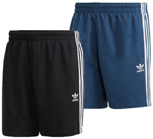 Adidas Men's 3-Stripes Swim Shorts, Color Options