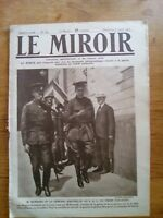 JOURNAL LE MIROIR N°189 - 8 7 1917 - KERENSKI ET BROUSSILOF