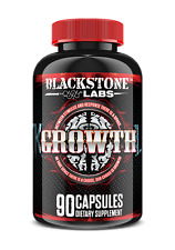 Blackstone Labs GROWTH 90 capsules Increase GH, Reduces Body Fat Improve Energy