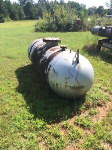 500 Gallon Carbon Steel Horizontal Tank