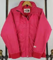 Vtg 80s THE NORTH FACE Medium Womens Made in USA Red Insulated Softshell Jacket