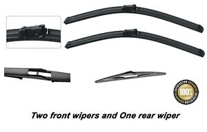 """Ford Focus 2011-2018 Brand New Front and Rear windscreen wiper blades 29""""29""""12"""""""