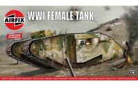 Airfix A02337V WWI Female Tank 1:76 Plastic Model Kit New & Sealed