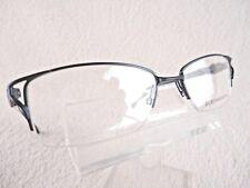 1020f366883 Blue Metal Half Frame Glasses Eyeglass Frames for sale