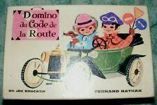 Domino du Code de la Route, Fernand Nathan, années 60 - Cavahel Vintage