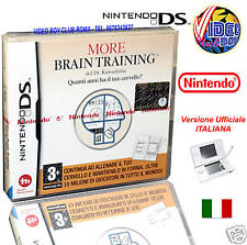 MORE BRAIN TRAINING DS NUOVO ITALIANO x NINTENDO NDS DS VBC 16484