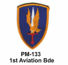 """3"""" 1ST AVIATION BDE Embroidered Military Patch"""