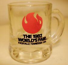 1982 World's Fair Knoxville,Tennessee USA Shot Glass-Mini Root Beer Mug Souvenir