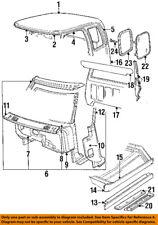 Dodge CHRYSLER OEM 84-93 D250-Door Sill Plate 4356264
