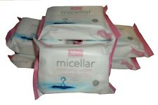 6 x XBC MICELLAR CLEANSING WIPES 25 PER PACK FOR ALL SKIN TYPES (150)